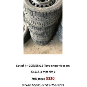 205-55r16 snow