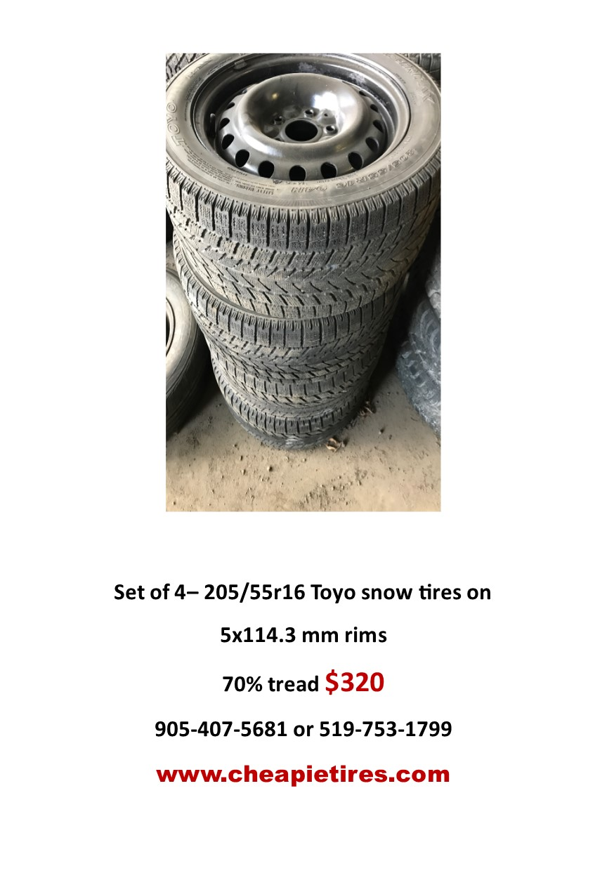 Used snow tires – used tires brantford, used tires hamilton, used ...
