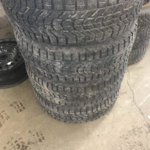 225/60r16 winterforce on rims