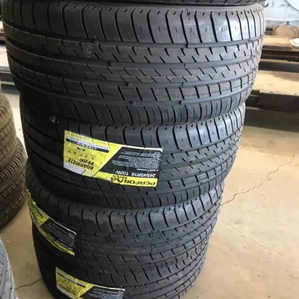 Set of 245/45r18 ROADMATE TIRES