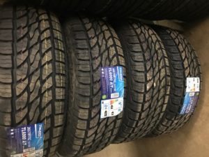 LT265/70R17 10PR TOLEDO- 4 tires installed $740